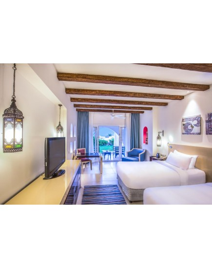 Egipt, Marsa Alam! Vacanta relaxanta la hotelul Hilton Nubian Resort 5*