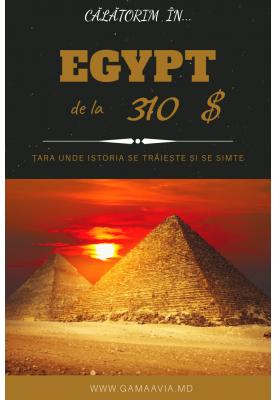 EGIPT! PREȚ MIC! de la 310 $!