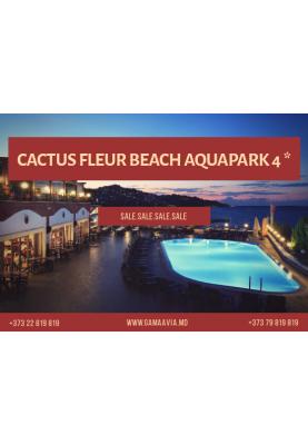 CACTUS FLEUR BEACH AQUAPARK 4 * - 437 €