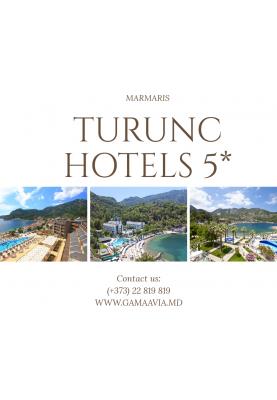 TURUNC HOTELS 5* de la 442 €!
