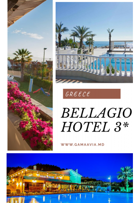HALKIDIKI! Bellagio Hotel 3* - 359 €