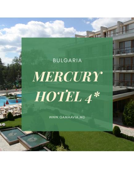 Bulgaria! MERCURY HOTEL 4* de la 161 €