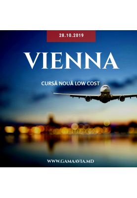 Chișinău - Viena de la 49 €