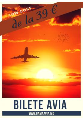 Bilete Avia LOW COST! spre Italia...de la 39 €
