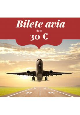 Bilete avia din IAȘI de la 30 €