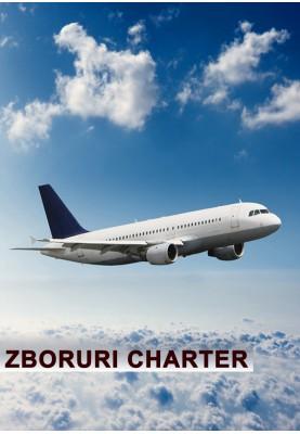 Zboruri Charter! Perioada 04.06.20 - 14.06.20!