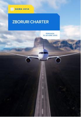 Curse Charter operate in perioada 12.06.20 - 28.06.20
