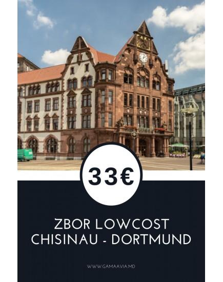 Chisinau - Dortmund! Bilete avia de la 33 euro!