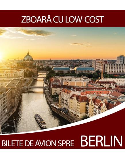 Bilete de avion ieftine Chisinau - Berlin! Zboara cu Low-Cost!