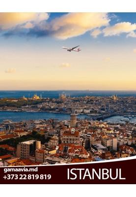 Bilete de calatorie spre Turcia! Zbor Chisinau - Istanbul la doar 95 €!
