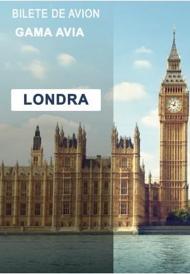 Zbor Charter! Chisinau — Londra — Chisinau!