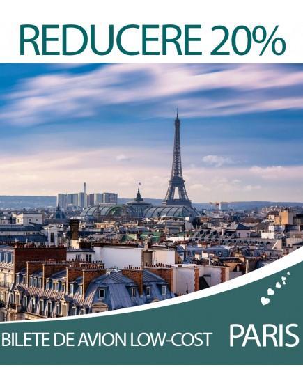 Bilete de avion Low-Cost: Chisinau - Paris la doar 25 €!