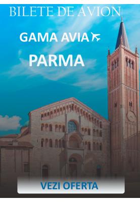 Bilete de avion spre Parma, Italia la doar 49 euro!