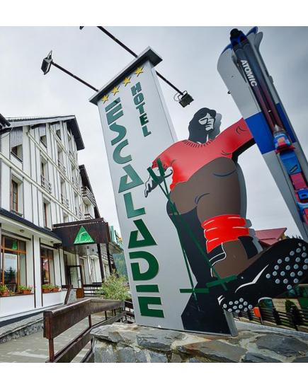 Vacanta la munte in Romania! Oferta de Craciun la hotelul Escalade