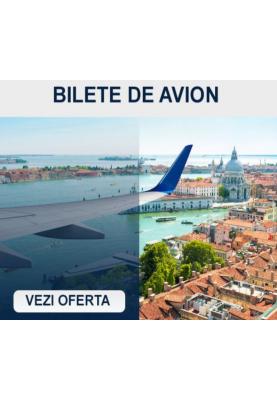 Bilete de avion spre Veneția, Italia la doar 45 euro!