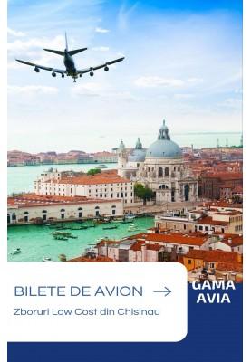 Zboruri Low-Cost din Chisinau spre Italia!