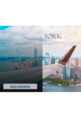 Bilete de avion tur-retur spre New York la doar 500 euro! Zbor din Chișinău!