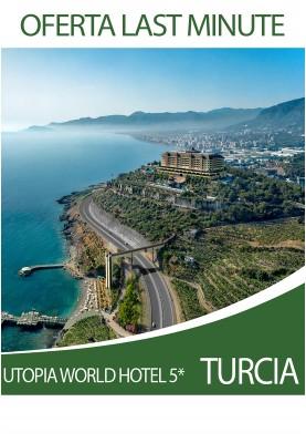 Utopia World 5* - oferta last minute pentru o vacanta de lux!