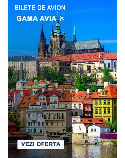 Bilete de avion spre Praga! Zbor din Chisinau in luna iulie!
