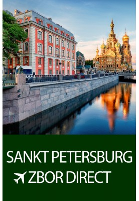 Zbor direct spre Sankt Petersburg