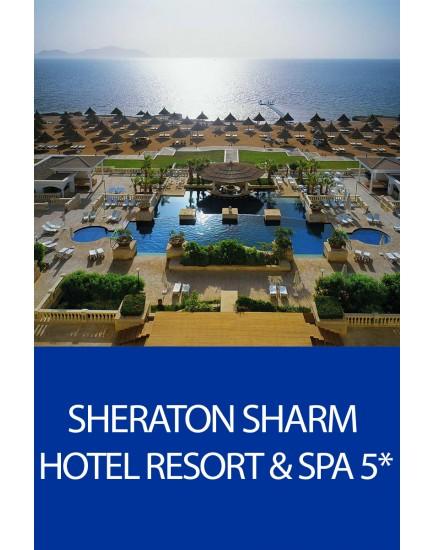 Odihna in Egipt! Sejur All Inclusive la hotelul Sheraton Sharm 5*