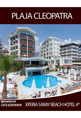 Odihna in Turcia! Faimoasa plaja Cleopatra! Alege o vacanta relaxanta la hotelul Xperia Saray Beach 4*!